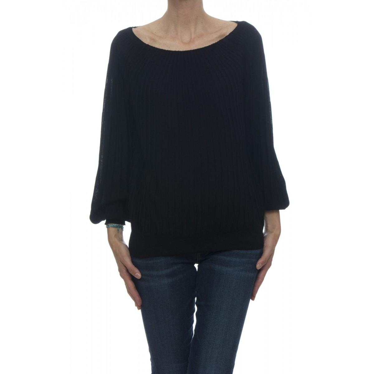 Maglia - 4536/13 maglia plisse barchetta