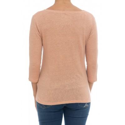 T-shirt - Fts398 m011 lino strech manica 3/4