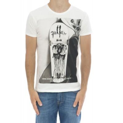 T-shirt - Icon white skatec