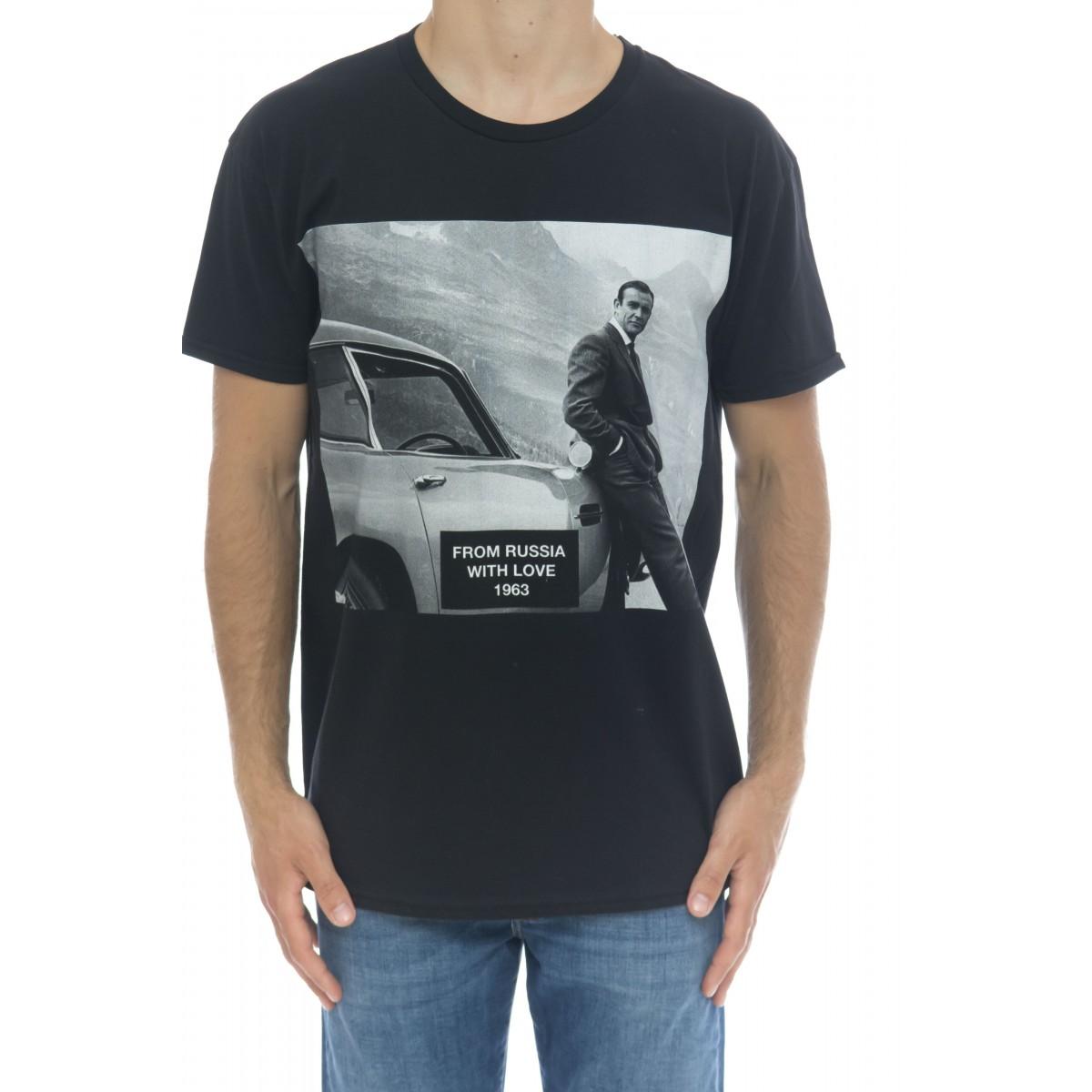 T-shirt - Icon black 007