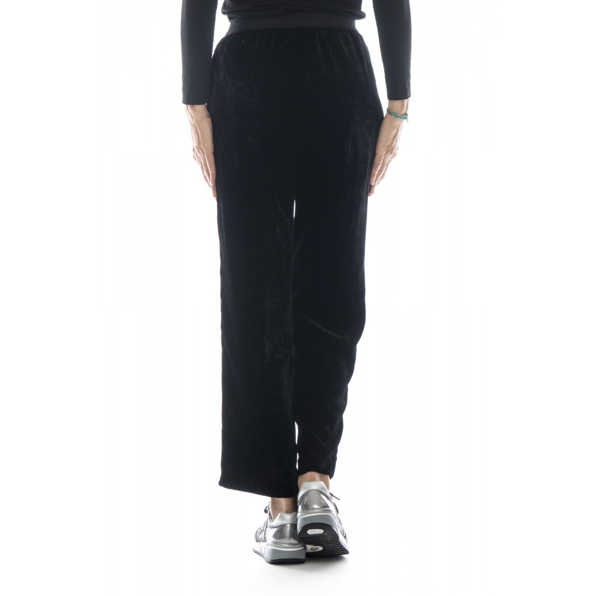 Pantalone donna - J4025 pantalone velluto