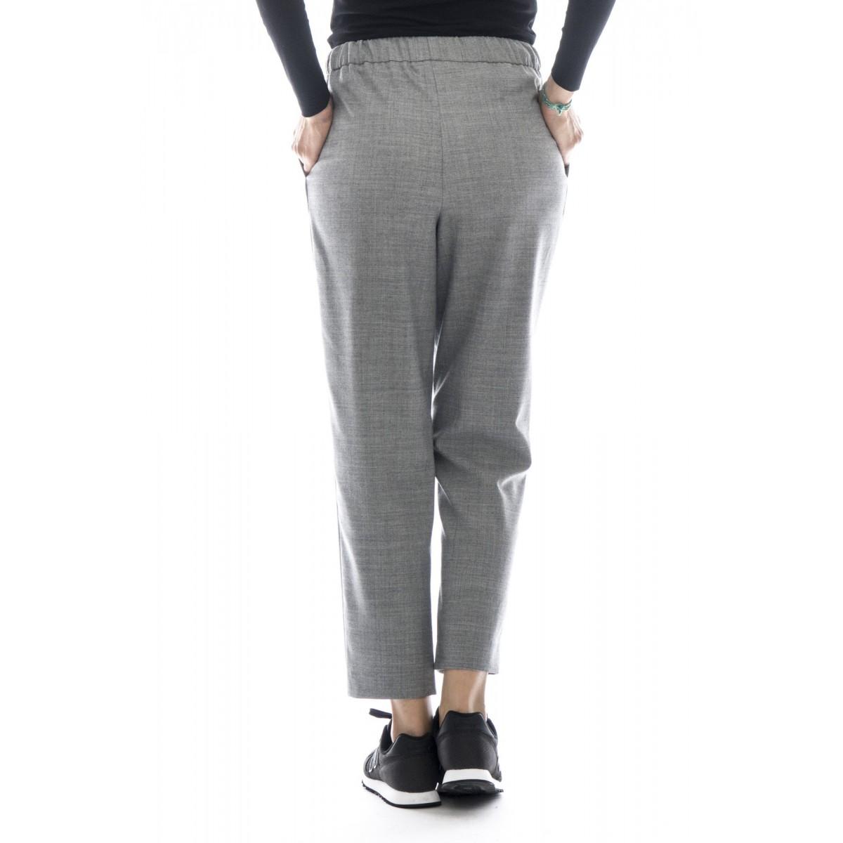 Pantalone donna - P2723 pantalone largo flanella