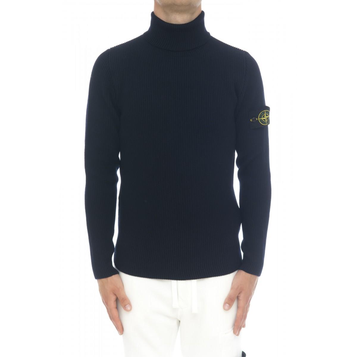Maglia uomo - 522c2 maglia costa inglese collo alto