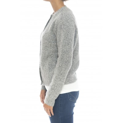Maglieria - D11020 cardigan cotone angora