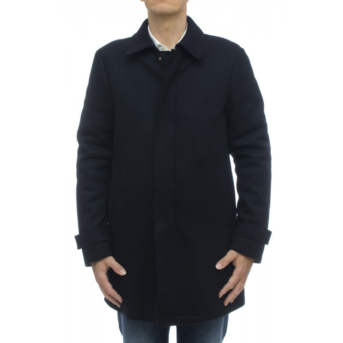 Cappotto - Pc0023u 38320 cappotto lana imbottito
