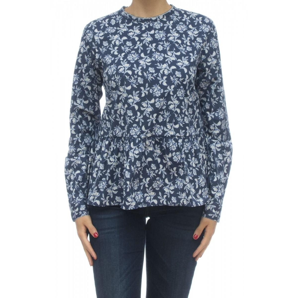 Camicia donna - Zhu rw9 rasatello stampato