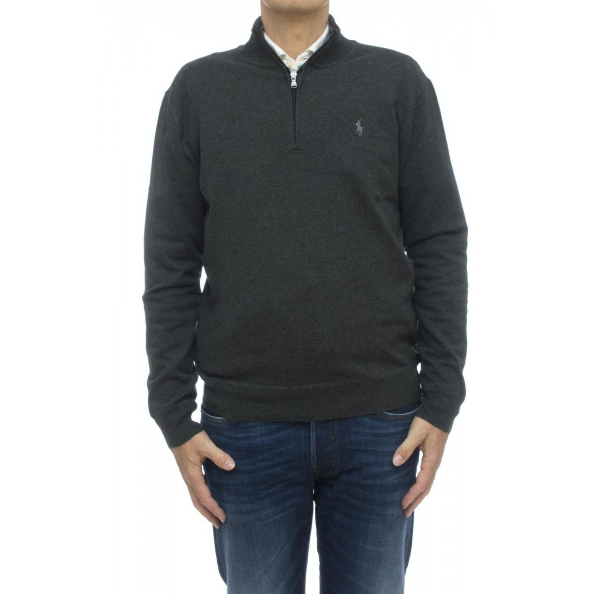 Maglia - 7106674030 maglia mezza zip