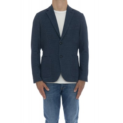 Giacca uomo - Cn2801 giacca cashmeire touch stampata