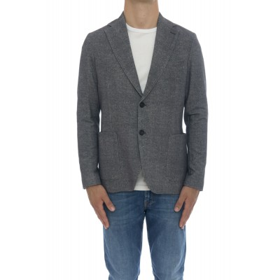 Giacca uomo - Cn2822 giacca cashmeire touch felpa stampata