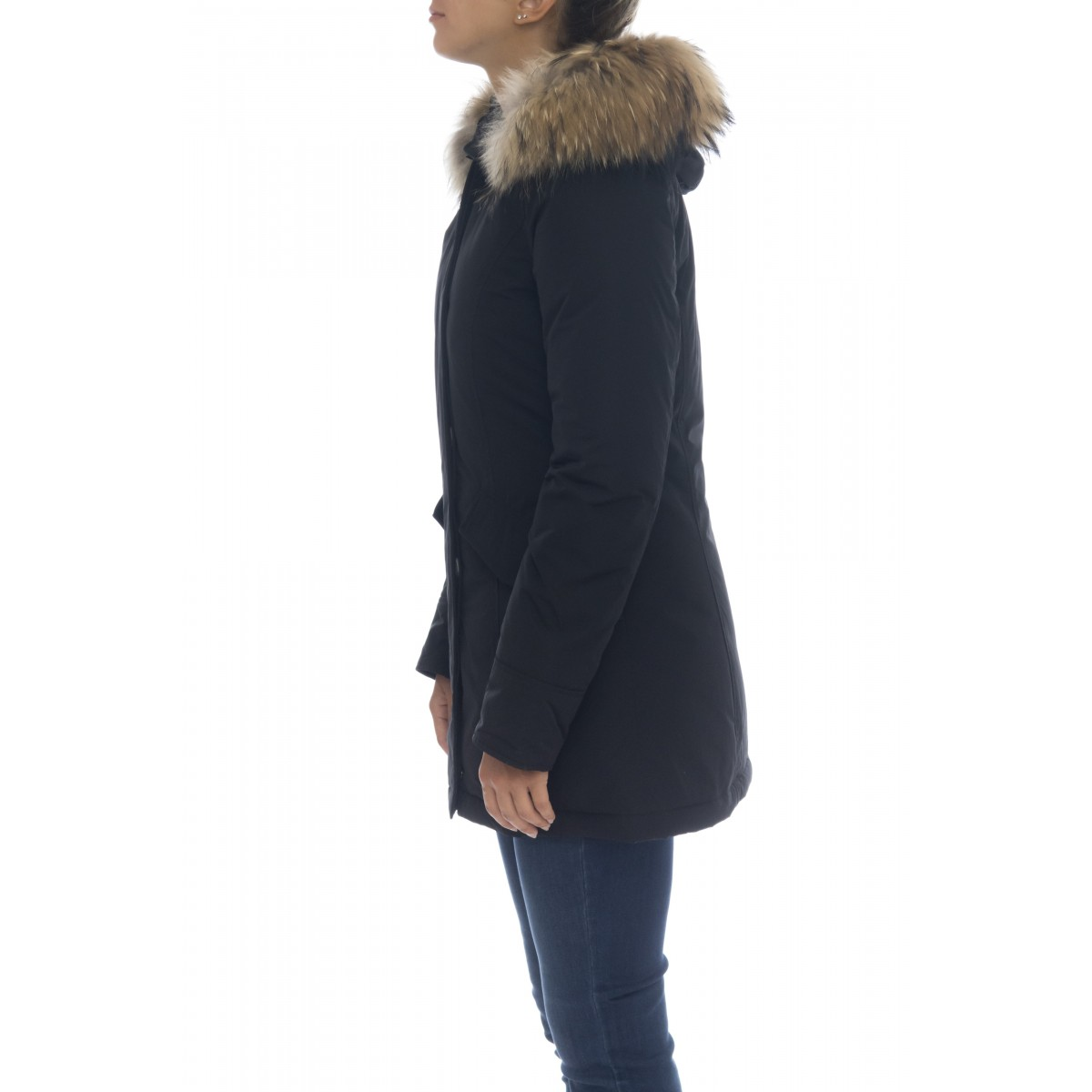 Parka Woman - WWOU0296 fr luxury artic parka fr