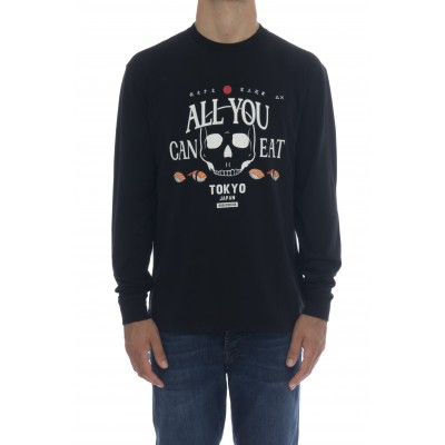 T-shirt - Cpt40122 t-shirt manica lunga