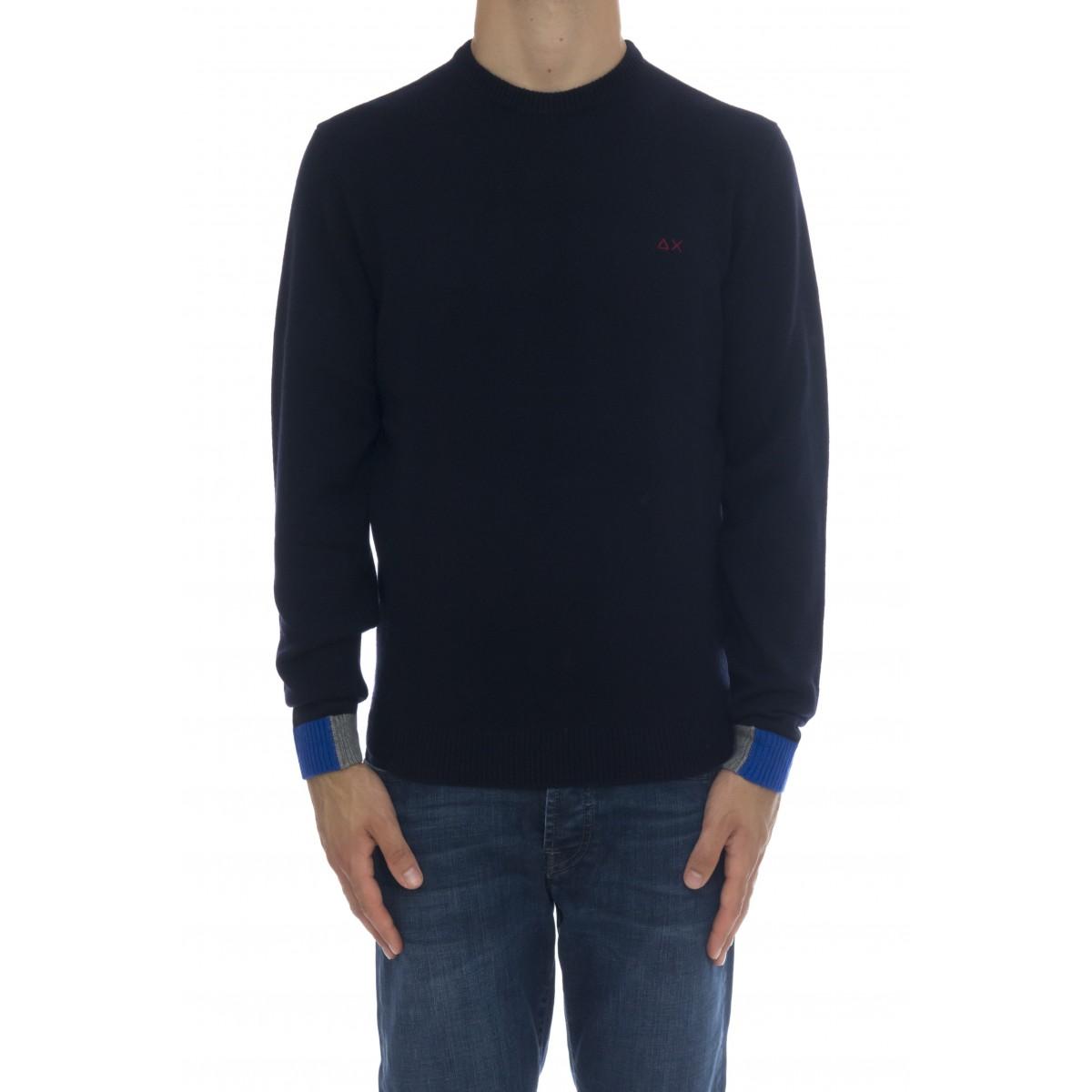 Maglia uomo - K40130 maglia bordino polso