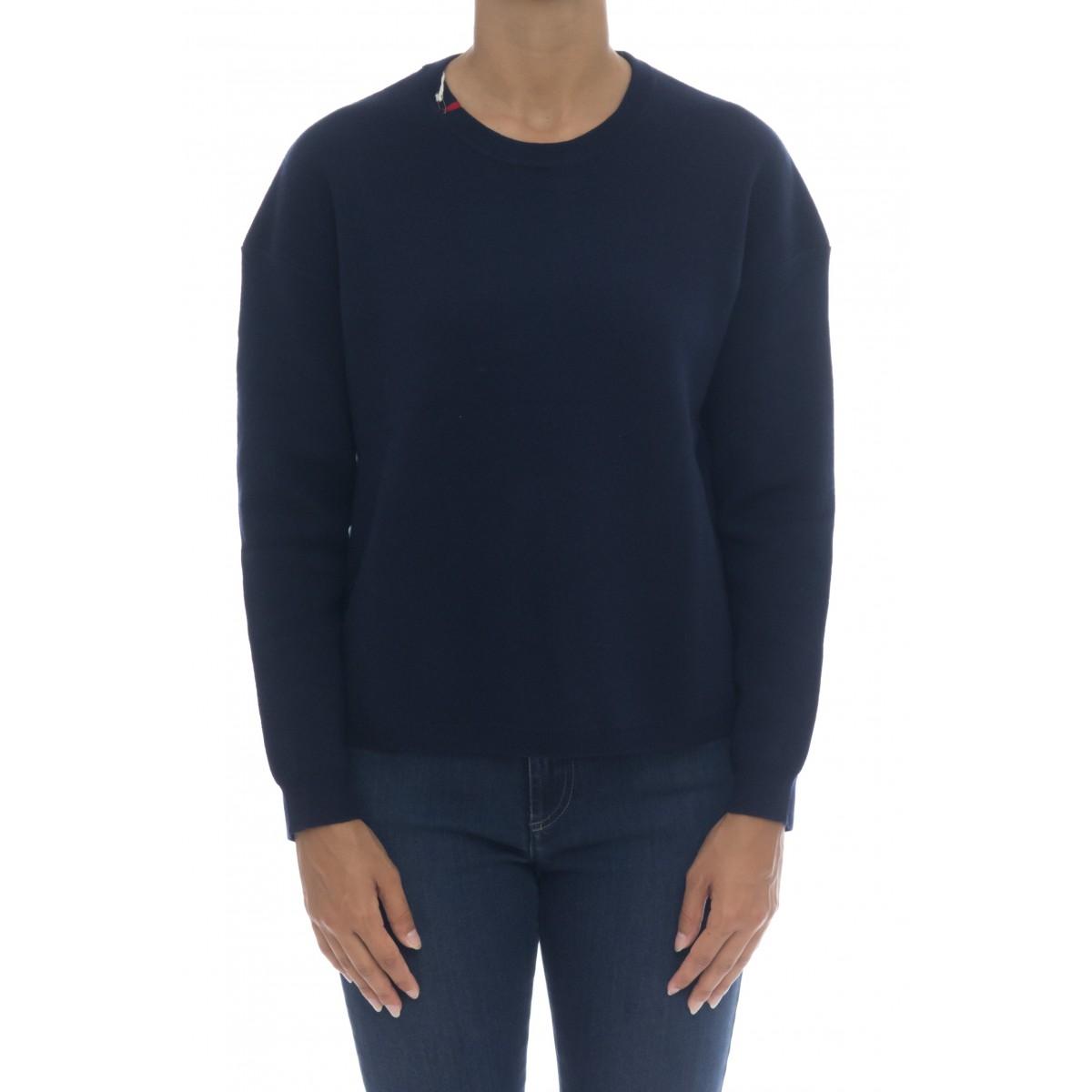 Maglieria - K40222 maglia punto milano