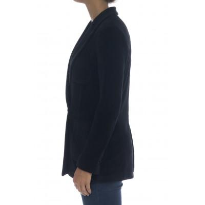 Giacca donna - Fd1672 giacca doppio petto velluto