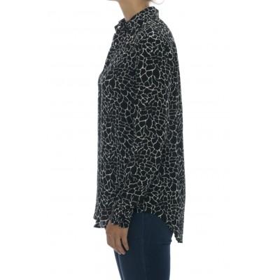 Camicia donna - Giselle 75502 camicia viscosa stampa