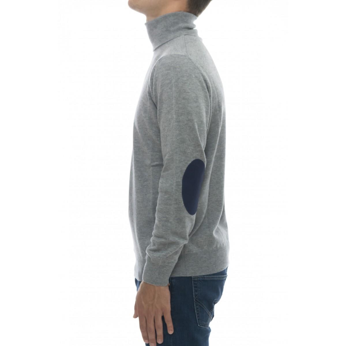 Maglia uomo - 1008/05/01  maglia collo alto 100% lana merinos extrafine