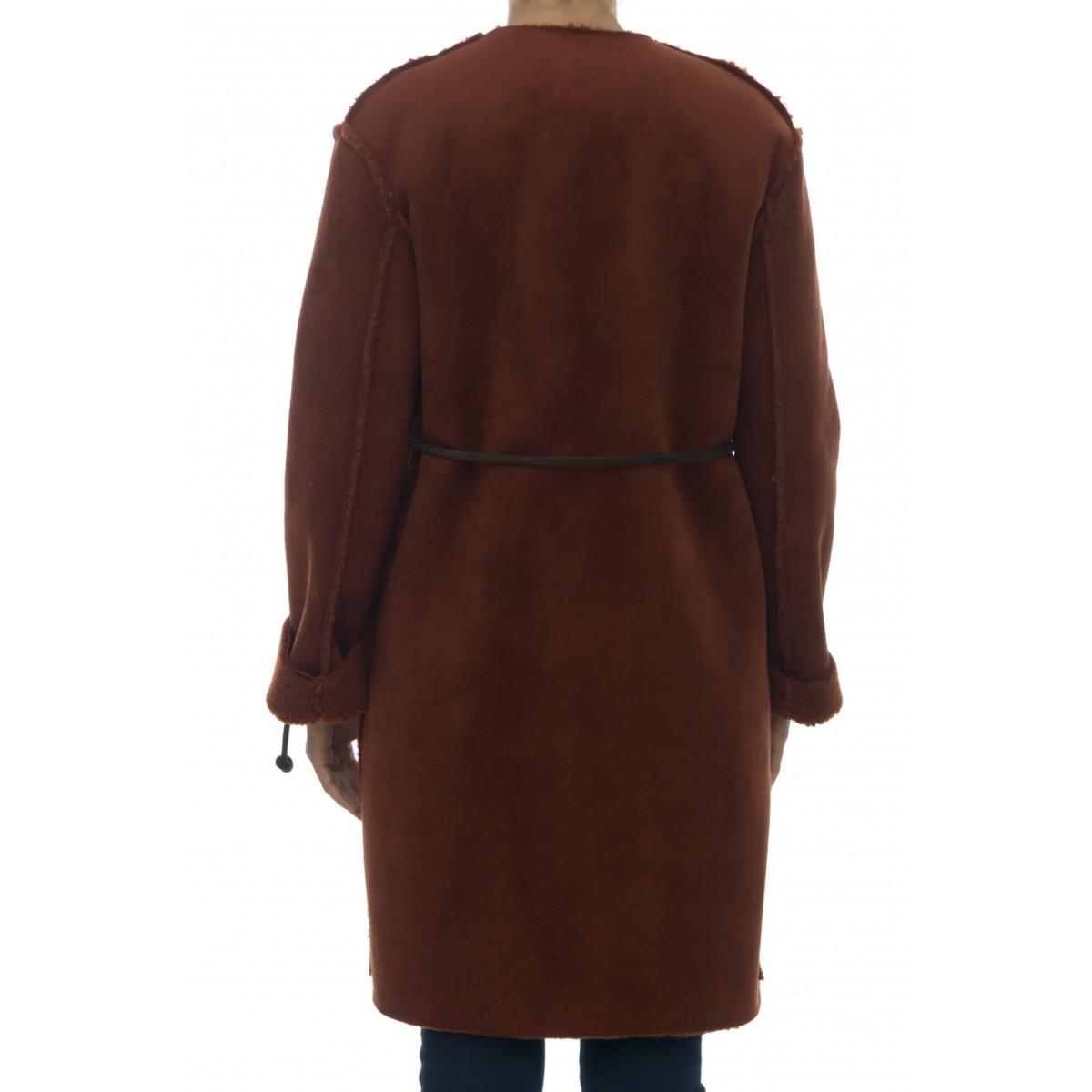 Cappotto - 329tom montone lungo reversibile