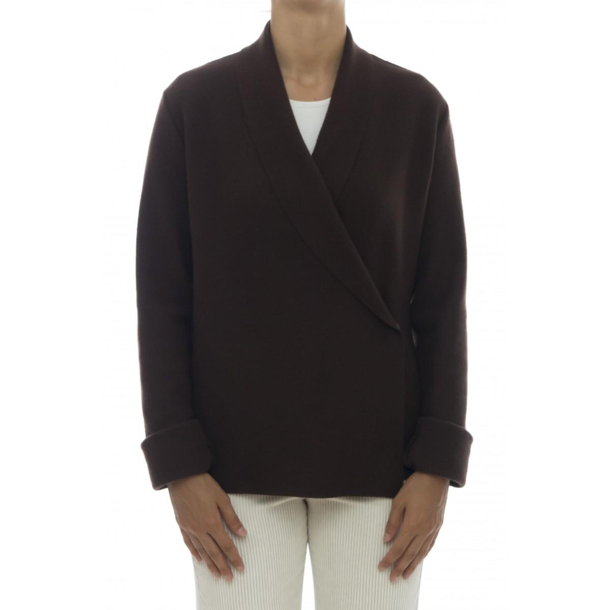 Giacca donna - 317j07 giacca lana infeltrita