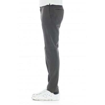 Pantalone uomo - 1w0030 40068 microfantsia cotone strech venezia