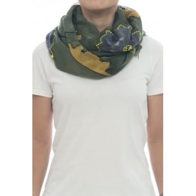 Sciarpa - Giglio 7204  100 x 200  100% lana