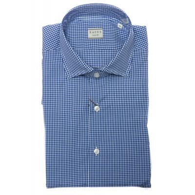 Camicia uomo - 748 11232 quadretto sul popeline
