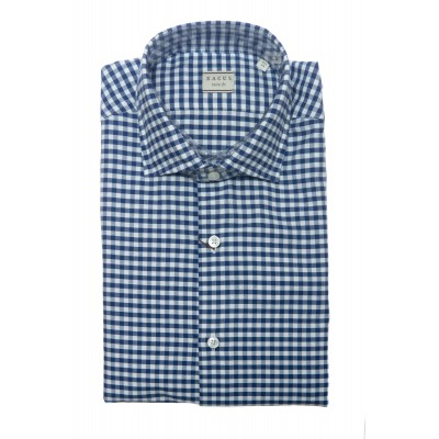 Camicia uomo - 748 11285 oxford lavato ritorto