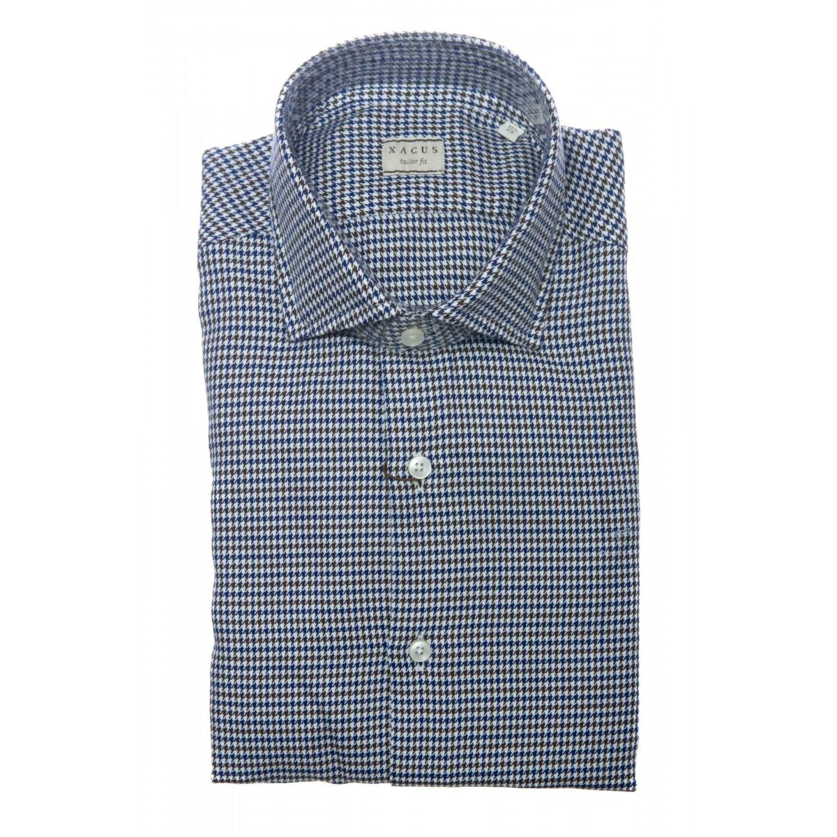 Camicia uomo - 748 71319 camicia filato compact
