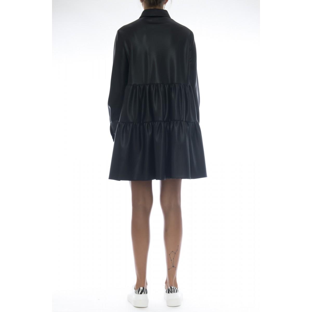 Vestito - J7013 vestito eco pelle