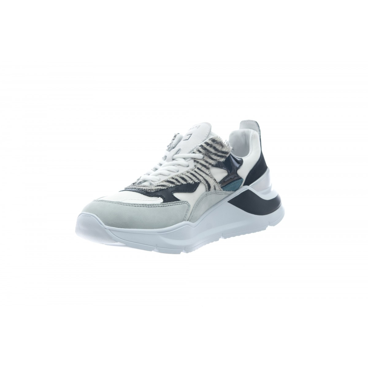 Scarpa - Fuga animalie white black