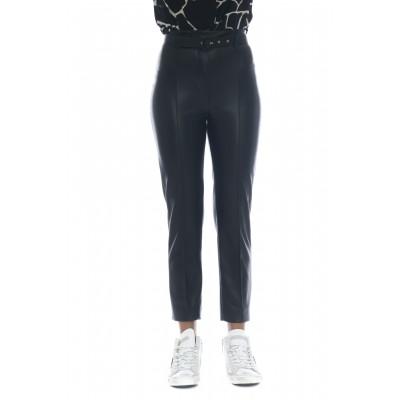 Pantalone donna - J4041 pantalone eco pelle