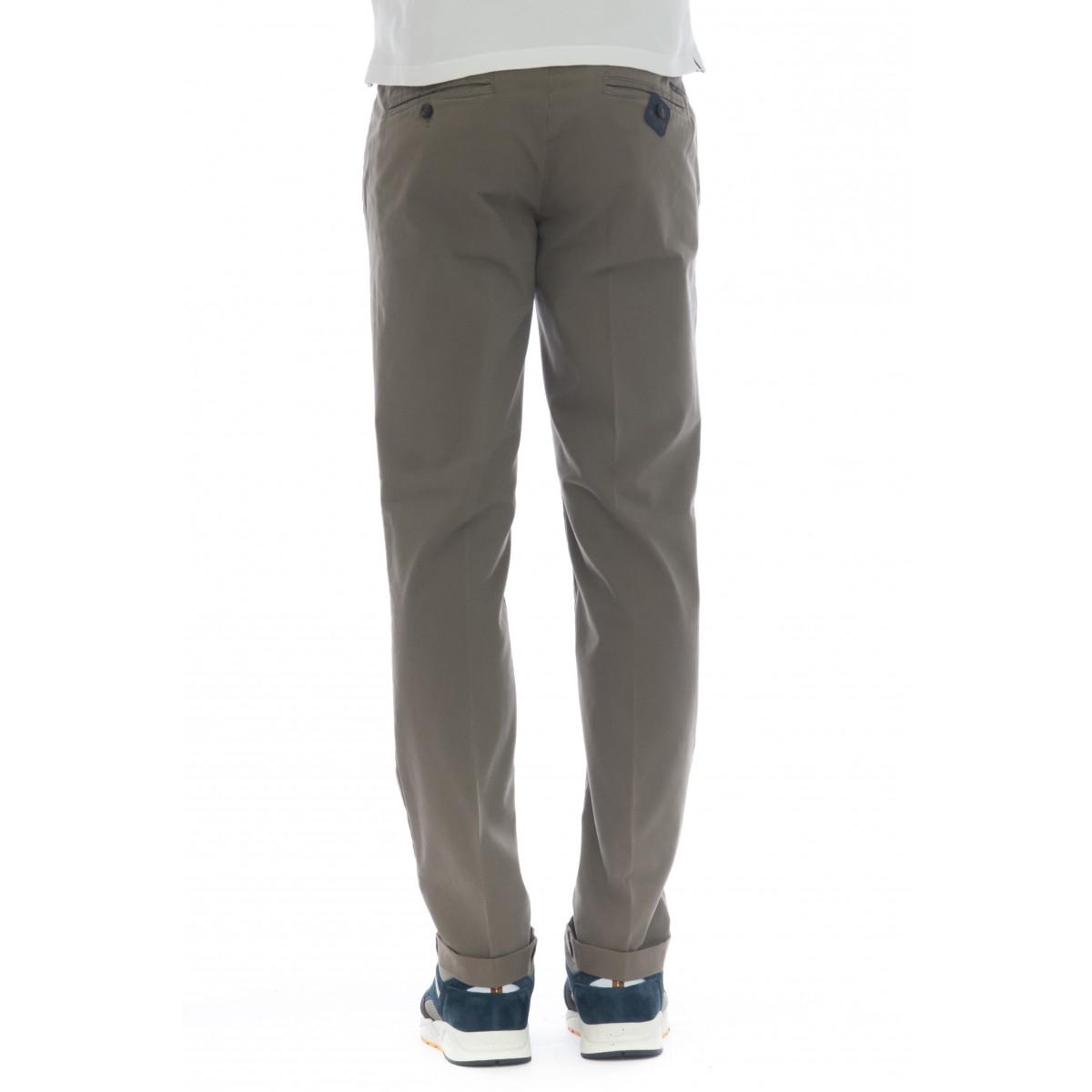 Pantalone uomo - Lenny 5578 slim tinta unita