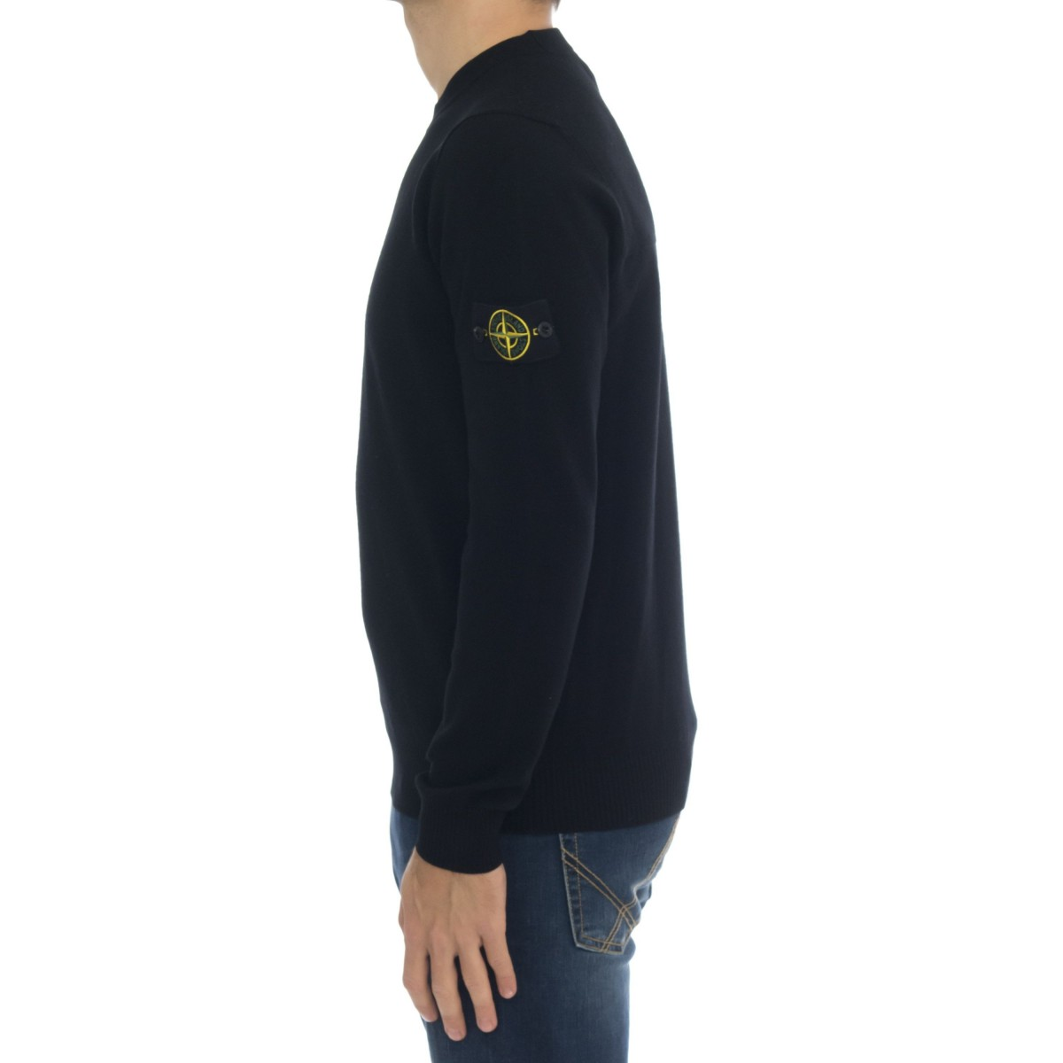 Crewneck knit - 591A1 wool strech light