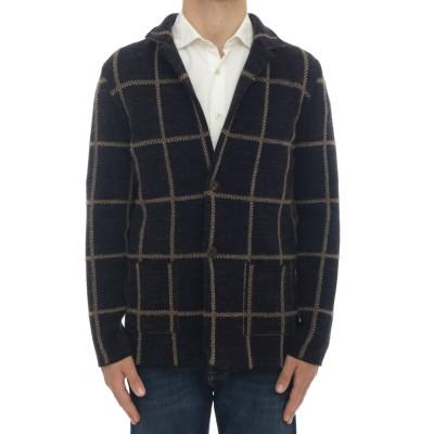 メンズジャケット-M / 822カシミアチェックジャケット