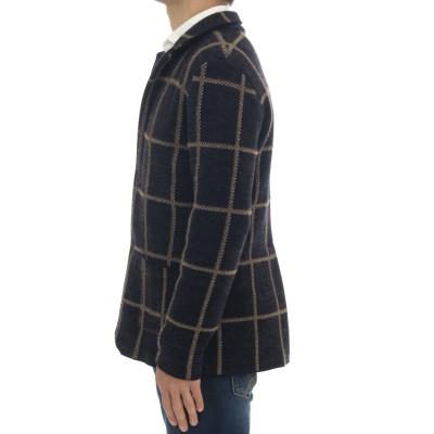 Giacca uomo - M/822 giacca check cashmeire
