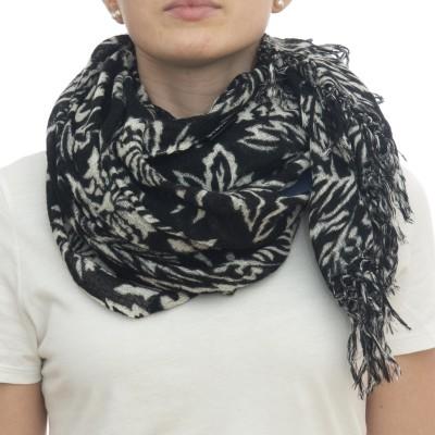 スカーフ-Ortensia 7120 100 x 200 100%ウール