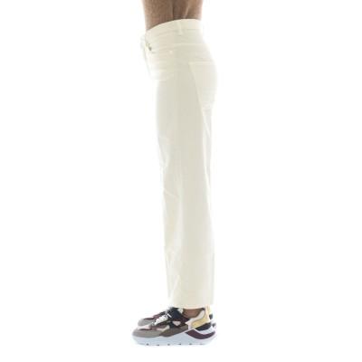 Pantalone donna - Elsa ls06 vellutto palazzo