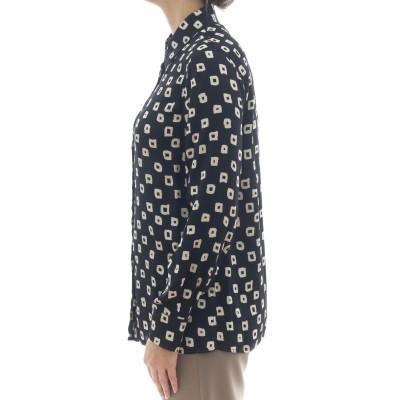 Camicia donna - J2023/q camicia stampa quadro