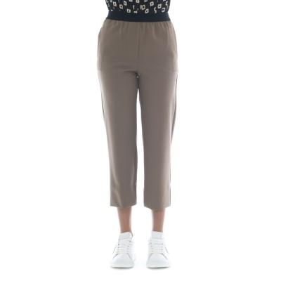 Pantalone donna - J4109 pantalone fresco lana elastico vita