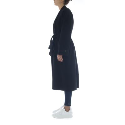 Cappotto - J6011 cappotto punto milano taglio kimono