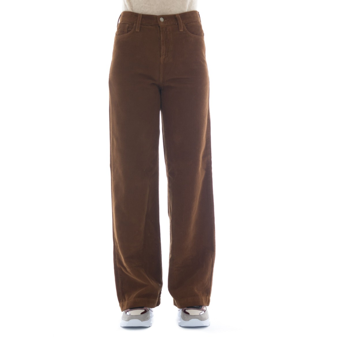 Pantalone donna - Marta corduroy pantalone largo velluto