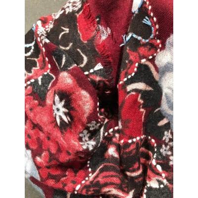 "Sciarpa - Giglio 7020  100 x 200  9"" wool 8%silk"