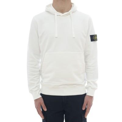 メンズスウェットシャツ-64151フード付きスウェットシャツ