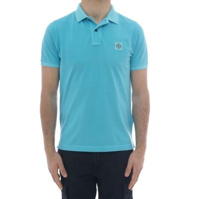 ポロシャツ-22s67スリムウォッシュドポロシャツ