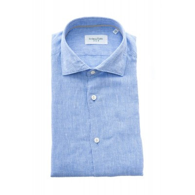 マンシャツ-Njwqe8カラーリネン
