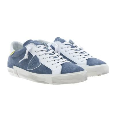靴-Prsxprluスエードプリントジーンズ