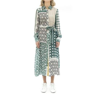 Dress - 55039 cupro printed...