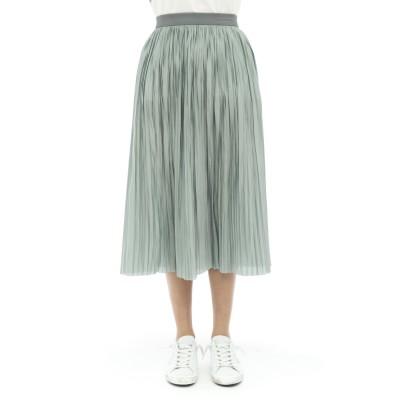 スカート-57067リバーシブルプリーツスカート