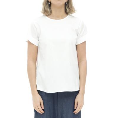 女性シャツ-メリッサ15125「アルビニ」mcコットン