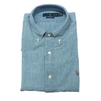 メンズシャツ-792042ウォッシュドデニムシャツ