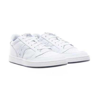 靴-705554人ジャズコートフルホワイトオールレザー